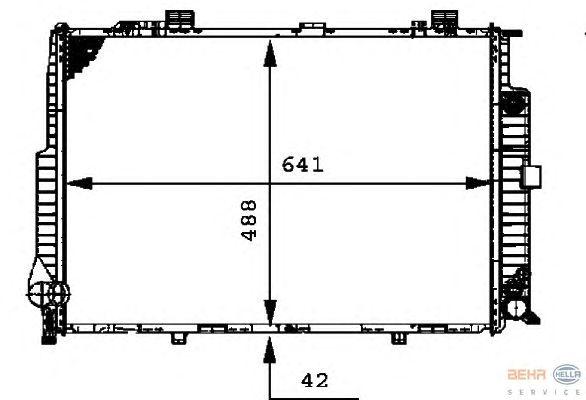 Теплообменник HELLA 8MK 376 712-401