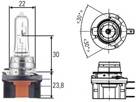 Лампа накаливания HELLA 8GJ 168 119-001