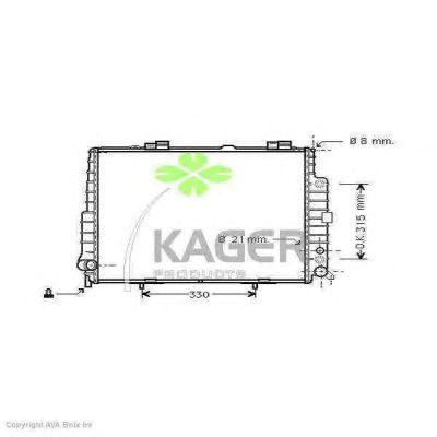 Теплообменник KAGER 31-3564
