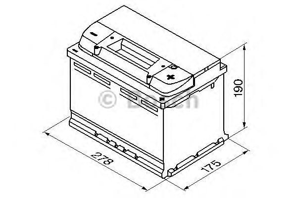 Аккумулятор BOSCH 0 092 S50 080