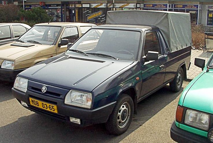 SKODA FAVORIT пикап (787)