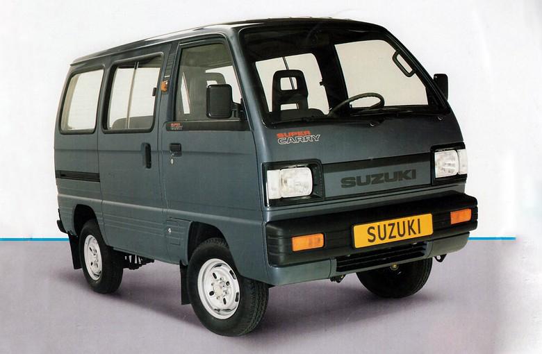 SUZUKI SUPER CARRY автобус (ED)