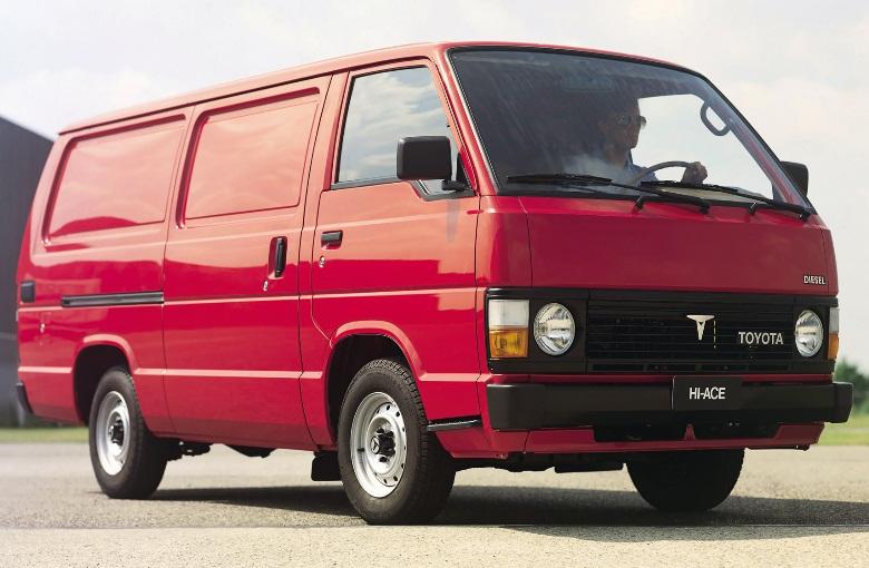 TOYOTA HIACE II фургон (LH5_, YH7_, LH7_, LH6_, YH6_, YH5_)