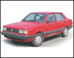 VW FOX седан