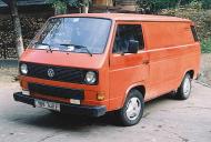 VW TRANSPORTER Mk III фургон