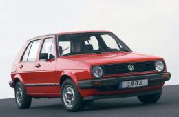 VW GOLF Mk II (19E, 1G1)