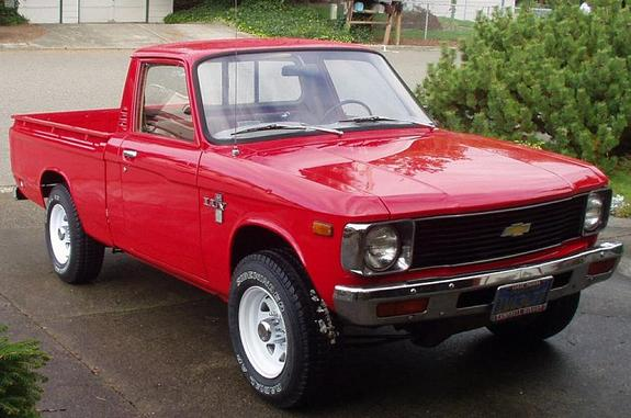 CHEVROLET LUV [USA] Standard Cab Pickup (US)