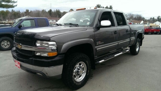 CHEVROLET SILVERADO 2500 HD [USA] Crew Cab Pickup (US)