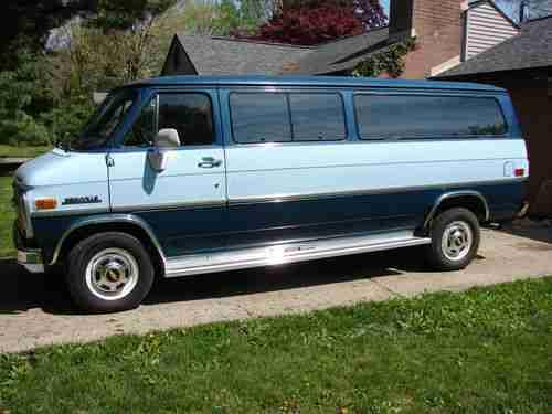 CHEVROLET G30 [USA] Standard Cargo Van (US)