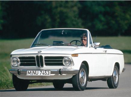 BMW 02 кабриолет (E10)