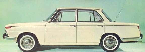 BMW 1500-2000 седан
