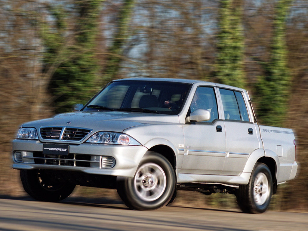 SSANGYONG MUSSO SPORTS пикап