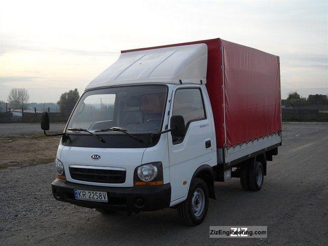 KIA Bongo / Бонго K2500 (SD)