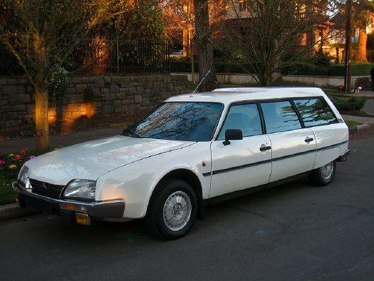 CITROËN CX Mk II универсал