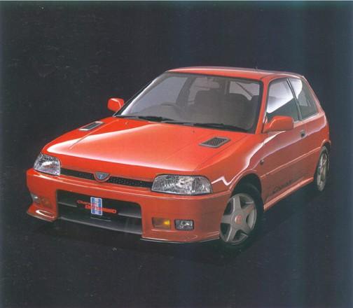 DAIHATSU CHARADE Mk III (G100, G101, G102)