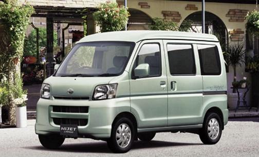 DAIHATSU HIJET автобус (S85)