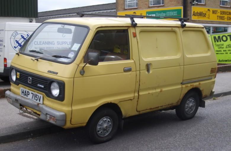 DAIHATSU HIJET фургон (S7_)