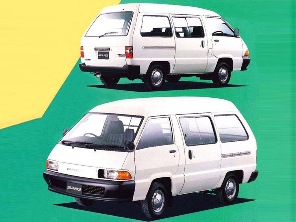 DAIHATSU DELTA фургон (V1_, V2_, V5_, YB_)