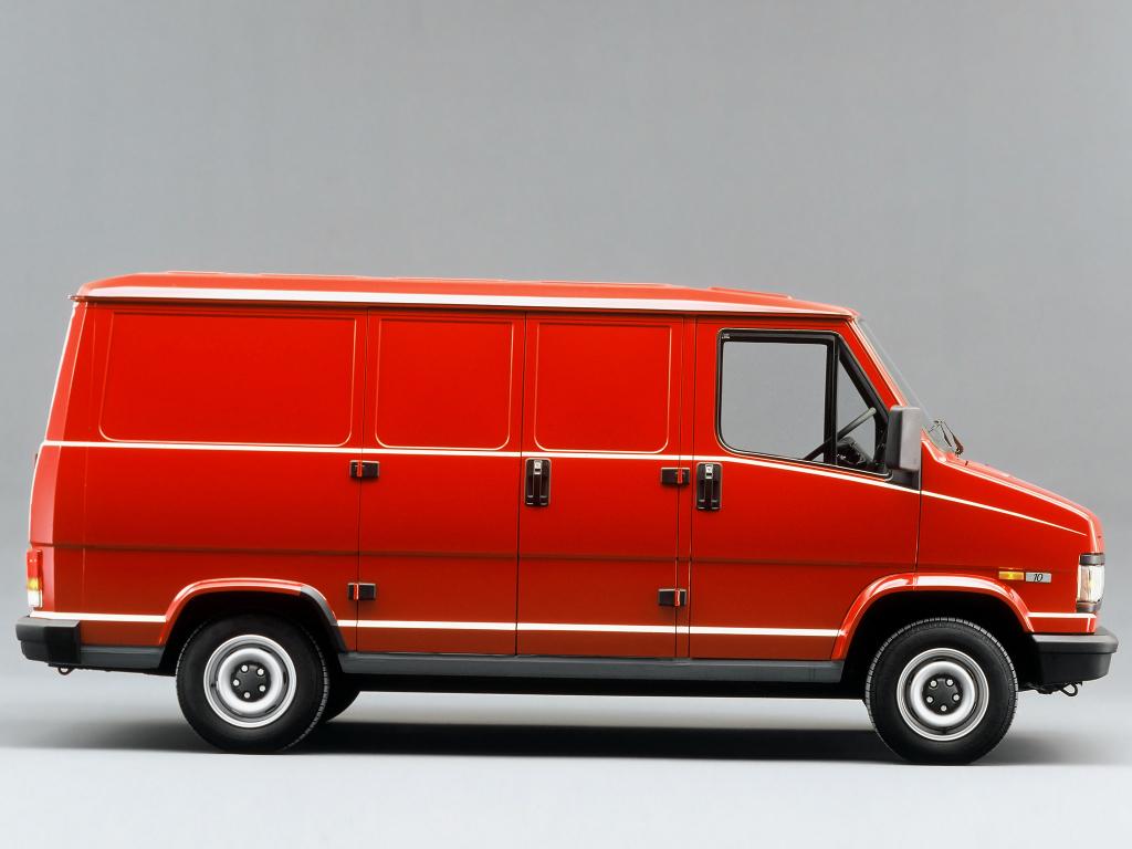 FIAT DUCATO фургон (290)