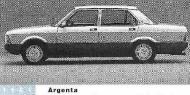 FIAT ARGENTA седан (132A)