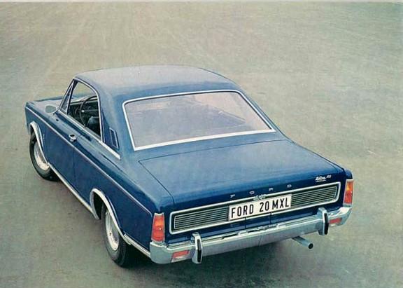 FORD TAUNUS 12M купе (P4)