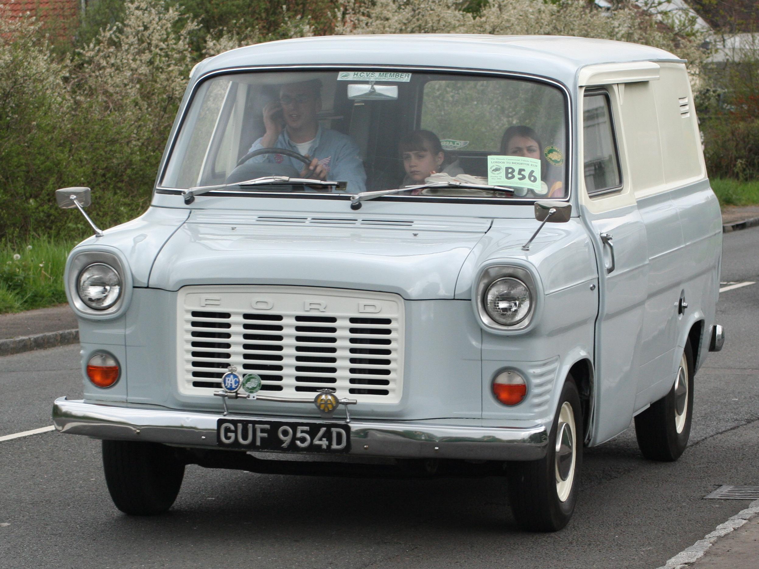 FORD TRANSIT '55- фургон