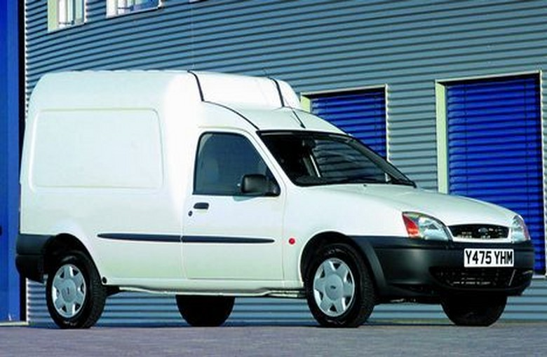 FORD COURIER фургон (JV_)