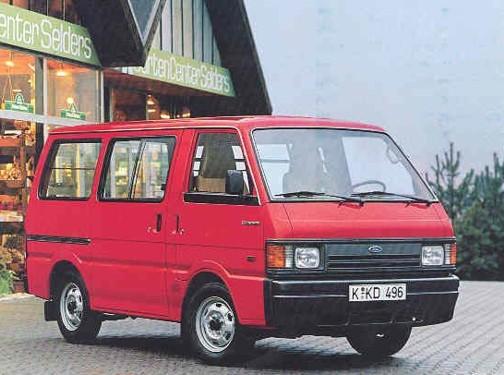 FORD ECONOVAN фургон (KAA)