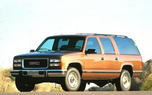 GMC C1500 SUBURBAN [USA] вездеход закрытый (US)