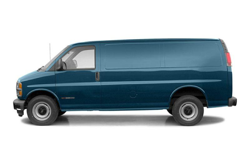 GMC SAVANA 2500 [USA] Standard Cargo Van (US)