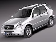 MERCEDES / Мерседес M-CLASS (W163)