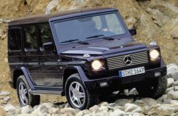MERCEDES / Мерседес G-CLASS (W463)