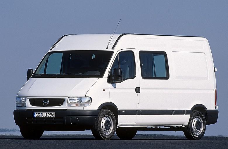 OPEL MOVANO фургон (F9)