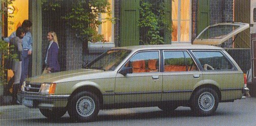OPEL COMMODORE B купе