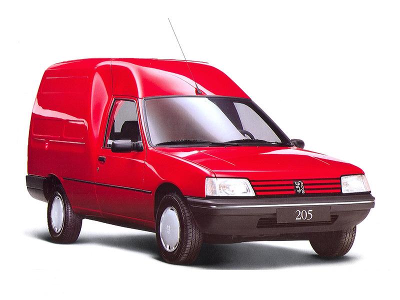 PEUGEOT 205 фургон