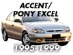 ACCENT/PONY 95MY