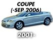 COUPE 01MY: -SEP.2006