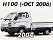 H-100 04MY~ (TRUCK): -OCT.2006