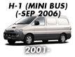 H-1 02MY: -SEP.2006