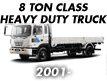 8TON CLASS HEAVY DUTY TRUCK 00MY