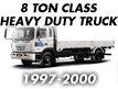 8TON CLASS HEAVY DUTY TRUCK 98MY