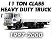 11TON CLASS HEAVY DUTY TRUCK 98MY