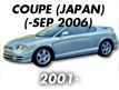 COUPE 01MY (JAPAN): -SEP.2006