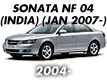 SONATA NF 04MY (INDIA): JAN.2007-