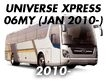 UNIVERSE XPRESS 06MY: JAN.2010-