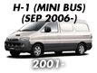 H-1 04MY: SEP.2006-