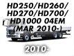 HD250/HD260/HD270/HD700/HD1000 04EM