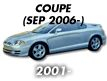 COUPE 07MY: SEP.2006-