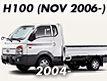 H-100 04MY~ (TRUCK): NOV.2006-