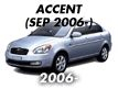 ACCENT/VERNA 06MY: SEP.2006-